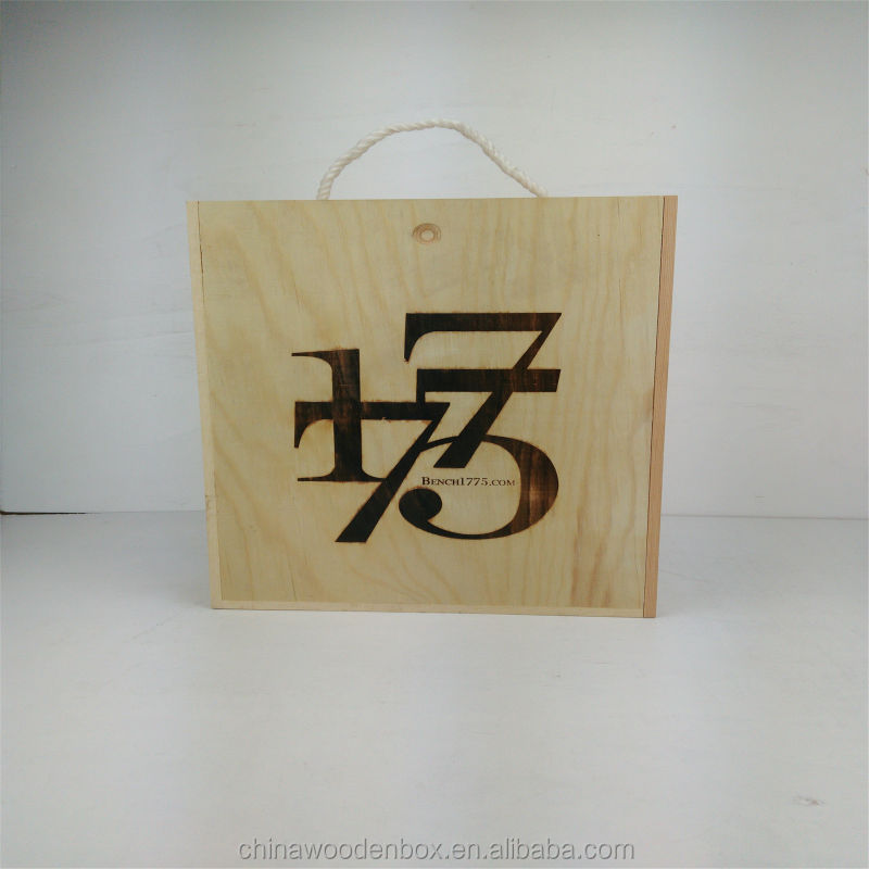 2015 Hot sales luxury mdf wine box