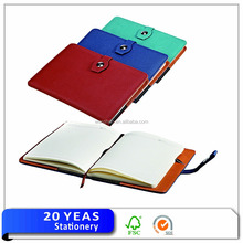 Executive diary leather cover 2016/diary with button