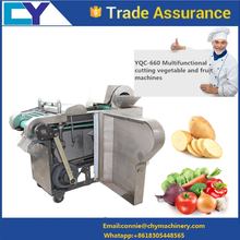 High efficient Electric Multifunctional fruit cutter/vegetable cutter/fruit and vegetable cutting machine