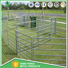 Galvanized Horse Round livestock yard panels portable fence panels for cattle and horse