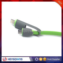 Lighting Charger Cable 2 in 1Data Cable for iphone/for samsung