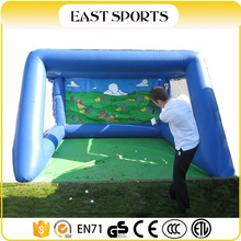 2017 inflatable golf chipping net,golf hitting net,indoor golf net target