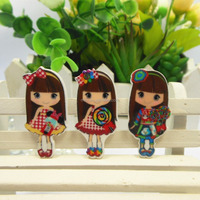 DIY Craft Cartoon Character Planar Resin Flatback Resin