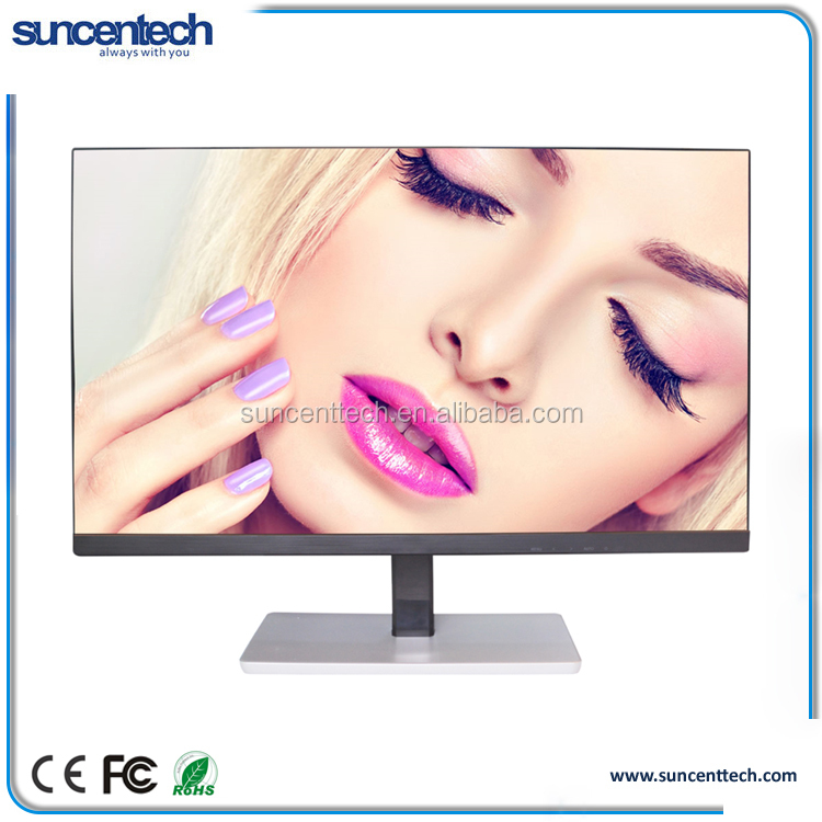 "23.8"" ips pc monitor frameless computer monitor 23.8 inch led monitor 12v"