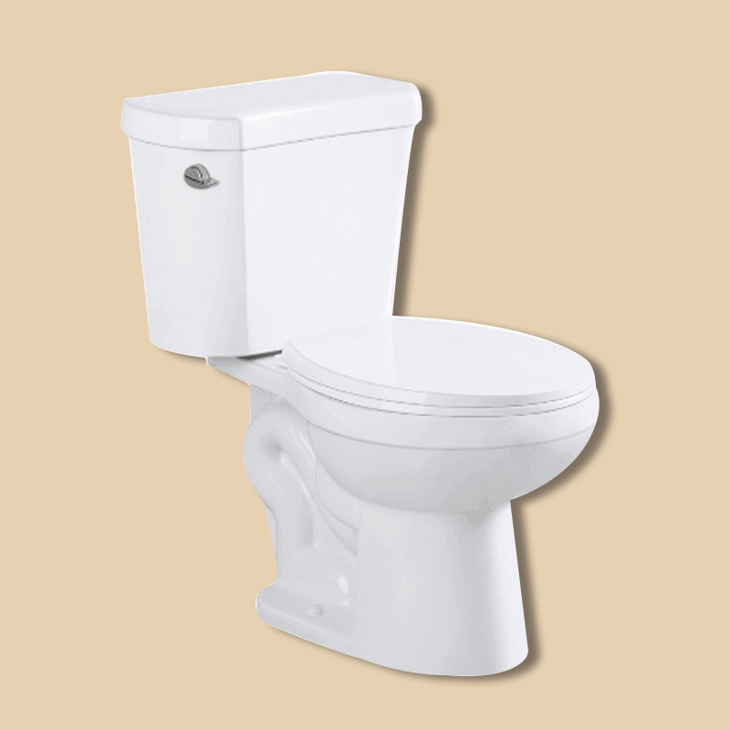 One Piece S-Trap Save Flush Toilet Bowl