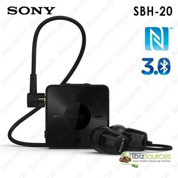 Sony SBH-20 Stereo Wireless Headset Bluetooth 3.0 + NFC
