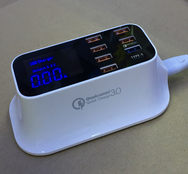 Qualcomm quick charger 3.0  type c fast charging USB charger (4)