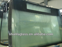 bus front laminated windshield glass