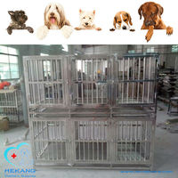 Good Quality Stainless Steel Double Layer Pet Show Cage