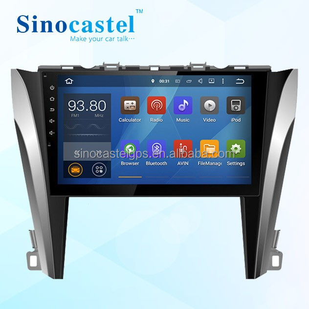 Toyota Camry Touch Screen Android Gps Can Bus Head Unit For 2015 Low Version