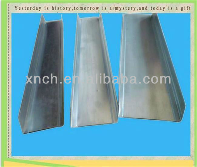 New Building Material For Ceilings And Drywall Partition/Metal Steel Track