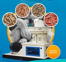 Biomass ring die coconut shell feed or fiber pellet making mill machine
