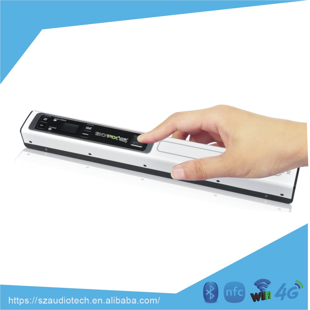 Portable A4 photo document scanner TSN451 with USB 900dpi