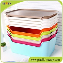 Removable tool stack snacks plastic storage box