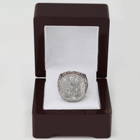 SJ Classic Memory SJMC011 ALABAMA 2012 Championship Replica Ring with Wooden Box