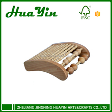 Wholesale wooden neck roller beads massager
