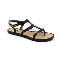 RMC Pearl Adorn Multi Ankle Strap PVC Injection Sandals