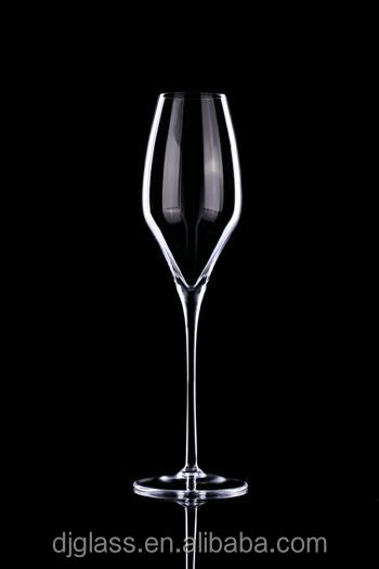 Dongjiu Hot Selling Clear Mouth-blown Crystal Champagne glass with 340ml