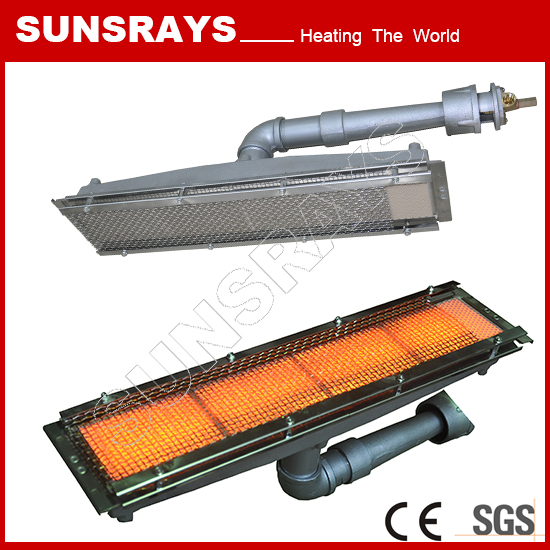 The infrared gas burner Can be used for paper drying line heating
