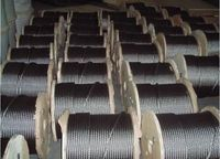 steel wire rope hot-dipped galvanized DIN3060 1X37