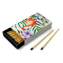 customized matches matchbox, cheap promotional match, good quality wooden matches sticks