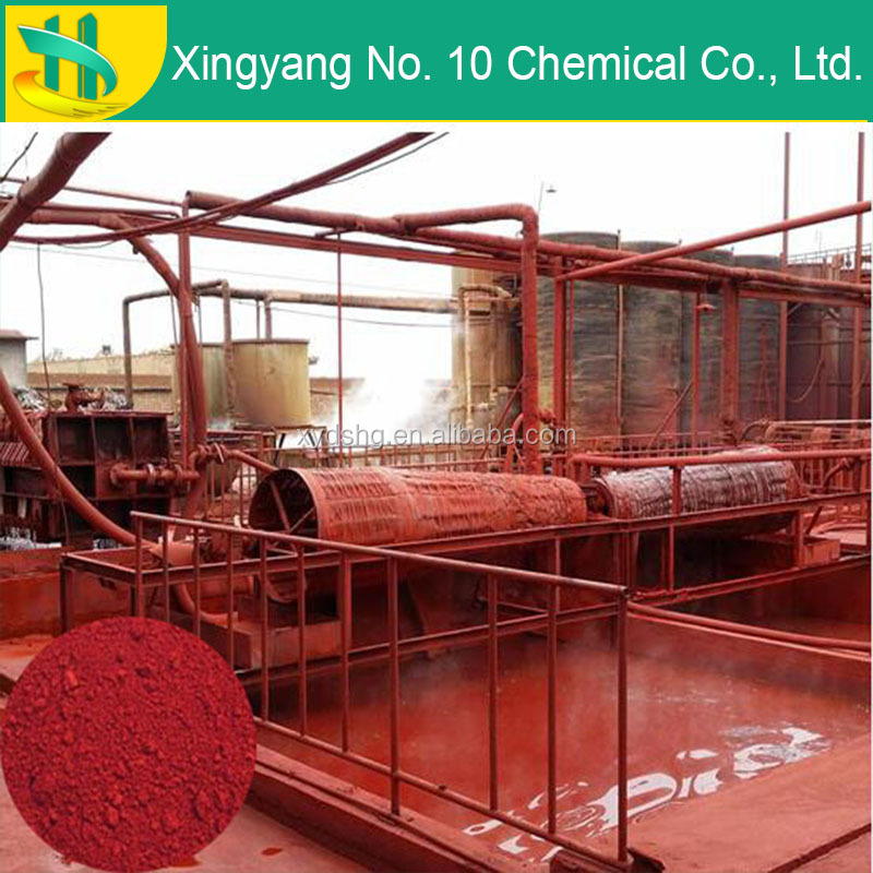 Iron oxide red 110 synthetic red powder pigment factory price for block paver