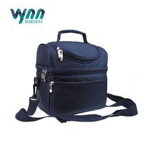 Fashionable 600D Folding Cooler Bags with Shoulder Strap