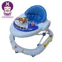 Hot Sale Tunes Musical Activity Pusher Baby Walker With Wheels