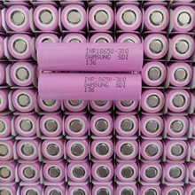 South Korea 18650 3.7V 3000mah li-ion battery pink Samsung 30q samsung INR18650 30Q batterie 3000 mAh batterie lithium 30q