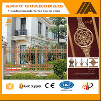 2016 new professional design high used aluminum fence AJLY-903
