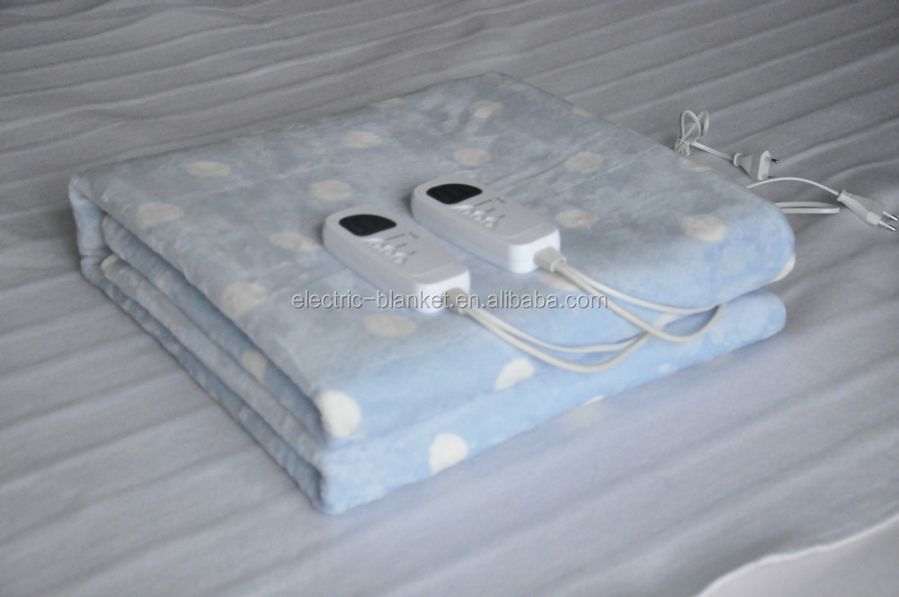 King size Super Soft Flannel Heated Blanket for speeding up metabolism