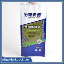 Four side sealing compound material packaging bag for chemical products