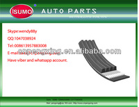 car Ribbed belt/auto Ribbed belt/high quality Ribbed belt 11281437875/11281739470 for BMW