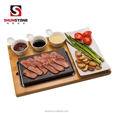 Cheap Steak Stone And Plate Set Of 7,Lava Stones Cooking Hot Rock Grill Plate,Lava Steak Stones Set