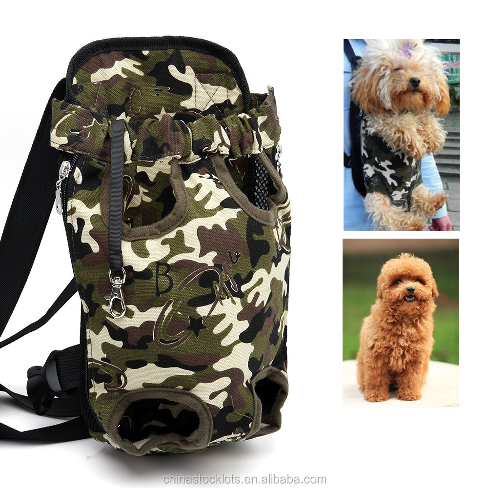 2017 new camouflage colour dog carrier bag backpack for <strong>pets</strong>