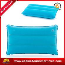 Low price camping set inflatable cushion pillow