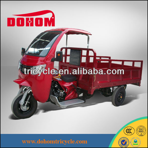 cargo used semi cabin auto motorized rickshaw for sale