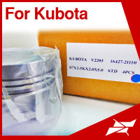 V2203 87MM engine piston for Kubota tractor