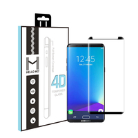 Custom-made China leather version small size 4D screen protector for Samsung Galaxy Note 8