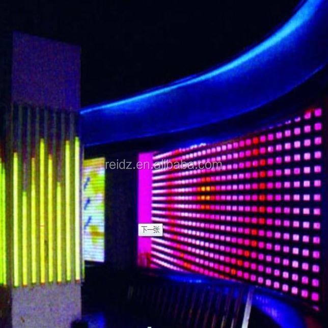Programmable dvi dmx control rgb dot matrix pixel led for - Led iluminacion interior ...