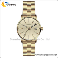 Unisex slim stainless steel watch with blank dial UN4112G-2