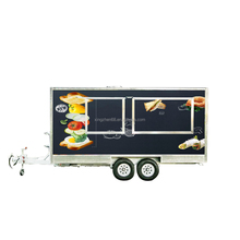 high quality hot dog cart/vending machines/ice cream trailer/outdoor coffee kiosk
