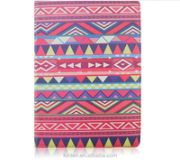 Mystery Aztec Tribe Style Retro Vintage Case Pouch 360 Degree Rotating Leather Wake Up Sleep Smart Cover For iPad Air 2 Folio St