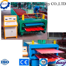 High quality glazed tile press and stone coated production line
