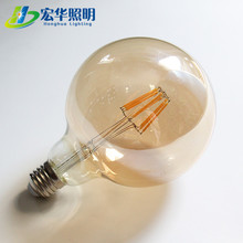 Globe Light Ul Vintage Filament G80 G95 G125 Led Edison Bulb