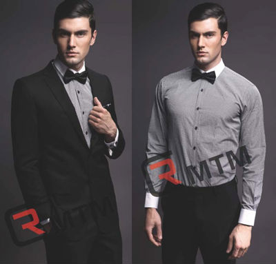 Tailored men's shirts