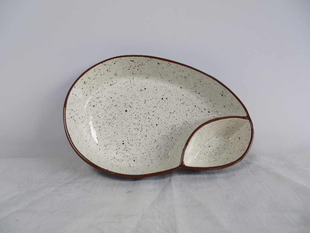 wholesale ceramic european oval special style plate