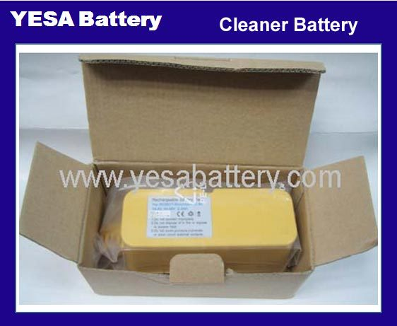 Popular Good Quality High Rate 14.4V 3.0Ah Full Capacity Ni-Mh Vaccum Cleaner Battery For Irobot Roomba 400/500/700 Series
