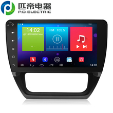 head unit 32g rom car radio car cd 10inch PD7006 for VW touch screen 1024*600 resolution pure android4.4 carpad