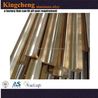 Five star quality made from factory OEM powder coated brass flat bar